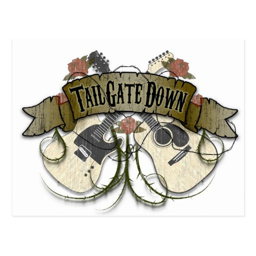 Tailgate Down Post Cards