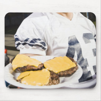 tailgate party before a football game 2 mouse pad