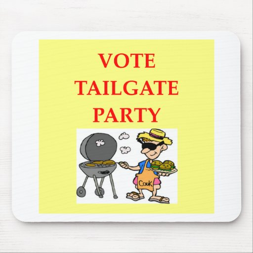 tailgate party mouse pads