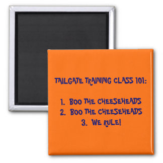TAILGATE TRAINING 101 MAGNET