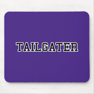 Tailgater Jersey Font - Any Team Colors Mouse Pad