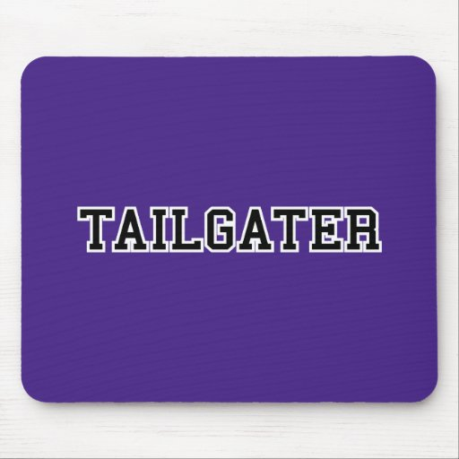 Tailgater Jersey Font - Any Team Colors Mousepad