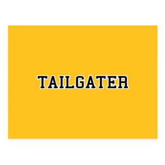 Tailgater Jersey Font - Any Team Colors Postcard