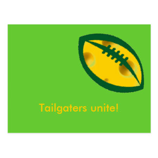 tailgaters of wisconsin post cards