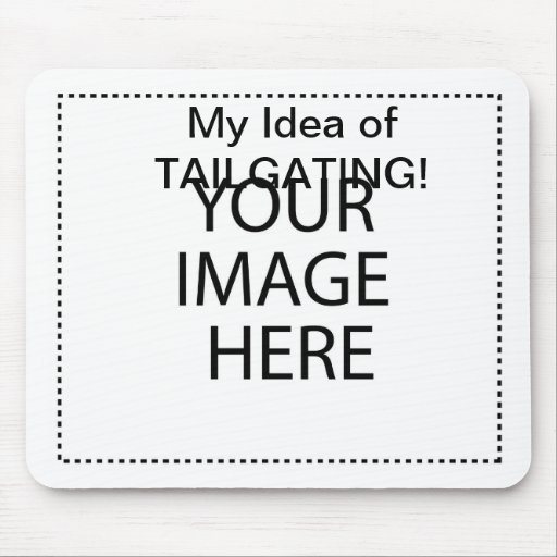 Tailgating Mouse Pad