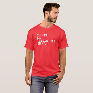 TAILGATING RED WHITE T-Shirt