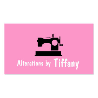 Tailor Alterations Tailoring Seamstress Tailor Business Card Templates