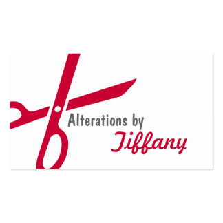 Tailor Alterations Tailoring Seamstress Tailor Pack Of Standard Business Cards