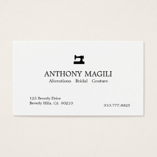 Tailor Business Card