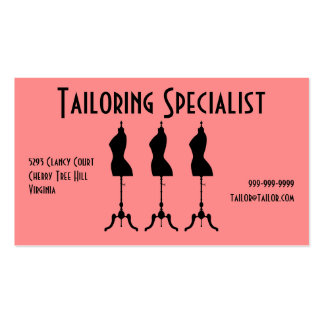 Tailoring Specialist Business Card