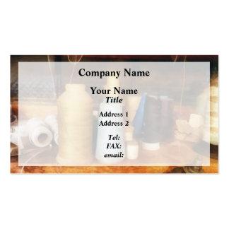 Tailor's Thread Business Card Templates