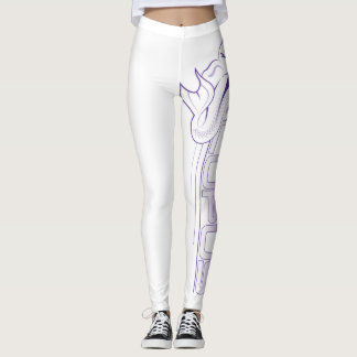 Tails For Lupus Leggings