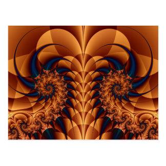 Tails Fractal Post Card