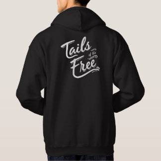 Tails of the Free dark hoodie