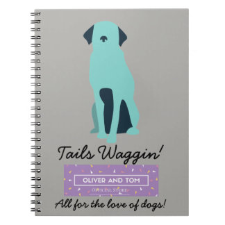 Tails Waggin' Charity Notebook! Notebooks