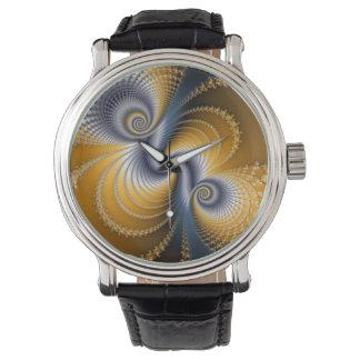 Tailspin - Fractal art Watch