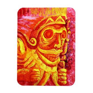 Taino magnet by Samuel Rios Cuevas