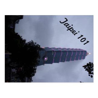 Taipei 101 postcard