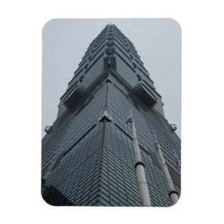 "Taipei 101 Taiwan 3""x4"" Magnet"