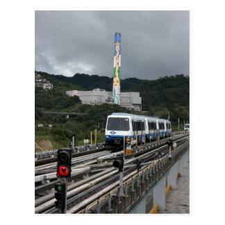 Taipei Metro at Taipei Zoo station Postcard