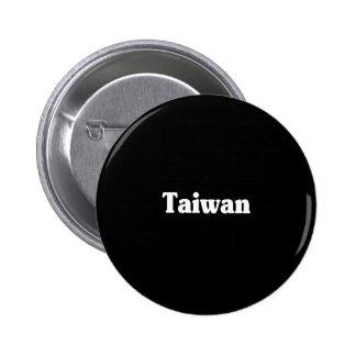 Taiwan 6 Cm Round Badge