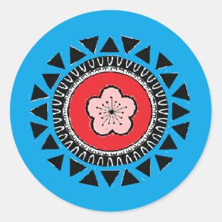 Taiwan Aboriginal Inspired Flag Sticker