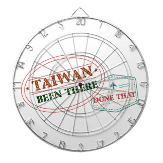Taiwan Been There Done That Dartboard