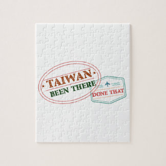 Taiwan Been There Done That Jigsaw Puzzle
