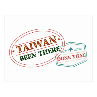 Taiwan Been There Done That Postcard