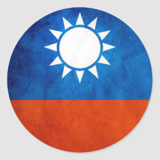 Taiwan Flag Sticker