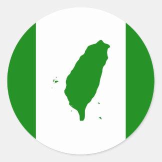 Taiwan Flag Sticker 2
