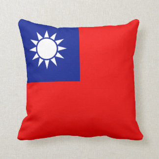 Taiwan Flag x Flag Pillow