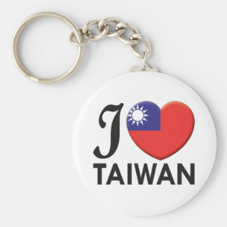 Taiwan Love Key Ring