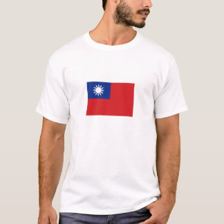 Taiwan National Flag T-Shirt