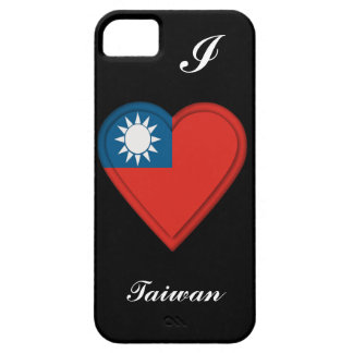 Taiwan Taiwanese flag: ADD TEXT iPhone 5 Cover