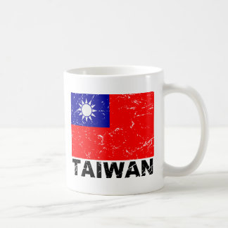 Taiwan Vintage Flag Coffee Mug