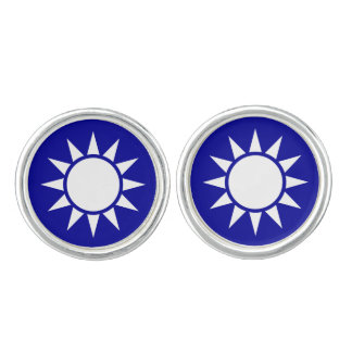 Taiwanese (Chinese) flag Cufflinks