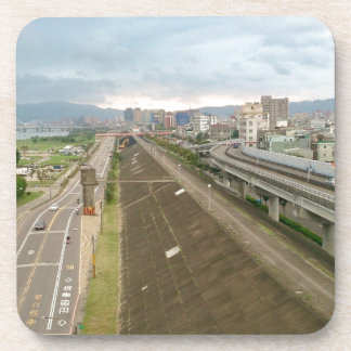 Taiwanese City and Landscape Beverage Coaster