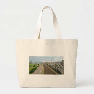Taiwanese City and Landscape Large Tote Bag