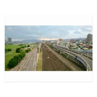 Taiwanese City and Landscape Postcard