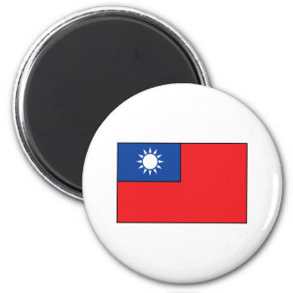 Taiwanese Flag T-shirts and Gifts Magnet