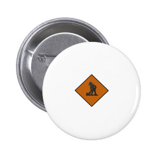 Taiwanese Worker Sign 6 Cm Round Badge