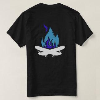 taj - CAMPFIRE BLUE T-Shirt