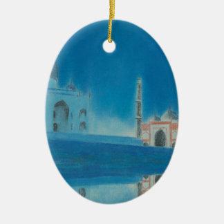 Taj. Ceramic Ornament