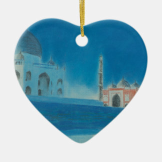 Taj. Ceramic Ornament