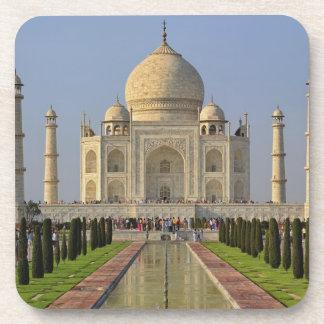 Taj Mahal, a mausoleum located in Agra, India, 2 Beverage Coaster