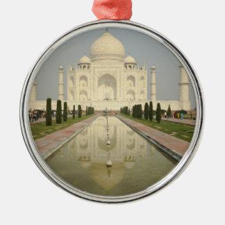 Taj Mahal, Agra, India Metal Ornament