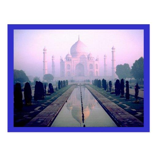 Taj Mahal Agra India Postcards