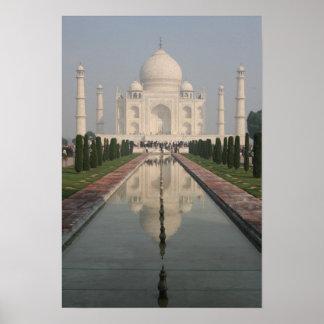 Taj Mahal Agra India Poster