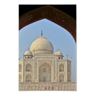 Taj Mahal Agra India Print